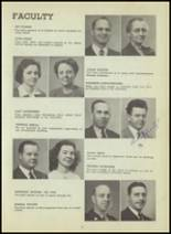 1947 Central High School Yearbook Page 22 & 23