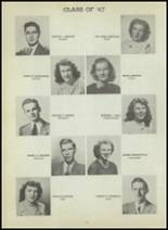 1947 Central High School Yearbook Page 88 & 89