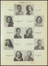 1947 Central High School Yearbook Page 90 & 91