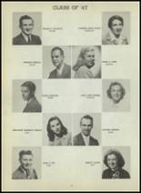 1947 Central High School Yearbook Page 92 & 93