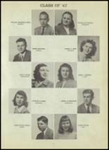 1947 Central High School Yearbook Page 94 & 95