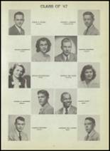 1947 Central High School Yearbook Page 96 & 97