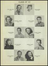 1947 Central High School Yearbook Page 98 & 99