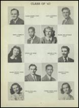 1947 Central High School Yearbook Page 100 & 101