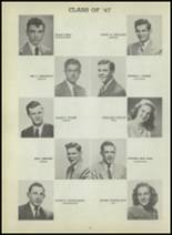 1947 Central High School Yearbook Page 104 & 105