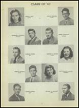 1947 Central High School Yearbook Page 106 & 107