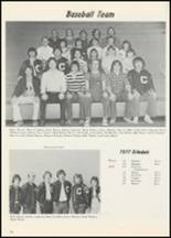 1977 Commerce High School Yearbook Page 58 & 59