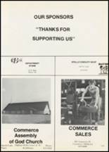 1977 Commerce High School Yearbook Page 122 & 123