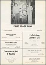 1977 Commerce High School Yearbook Page 126 & 127