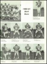 1981 Baird High School Yearbook Page 60 & 61