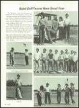 1981 Baird High School Yearbook Page 82 & 83
