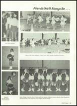 1981 Baird High School Yearbook Page 86 & 87