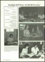 1981 Baird High School Yearbook Page 88 & 89