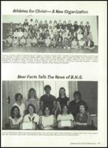 1981 Baird High School Yearbook Page 98 & 99