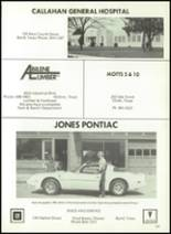 1981 Baird High School Yearbook Page 150 & 151