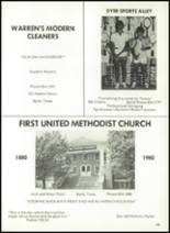 1981 Baird High School Yearbook Page 152 & 153
