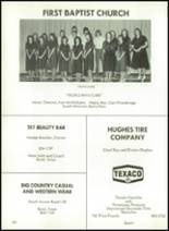 1981 Baird High School Yearbook Page 154 & 155