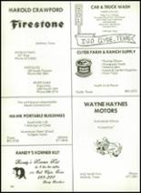 1981 Baird High School Yearbook Page 164 & 165
