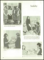 1966 St. Wendelin High School Yearbook Page 72 & 73