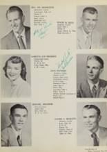 1955 Covington High School Yearbook Page 16 & 17