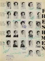 1955 Covington High School Yearbook Page 26 & 27