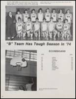 1974 Skiatook High School Yearbook Page 88 & 89