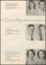 1947 Honey Grove High School Yearbook Page 12 & 13