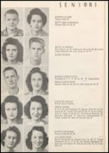 1947 Honey Grove High School Yearbook Page 18 & 19