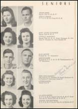 1947 Honey Grove High School Yearbook Page 20 & 21