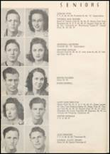 1947 Honey Grove High School Yearbook Page 22 & 23