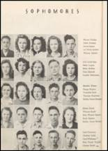 1947 Honey Grove High School Yearbook Page 30 & 31