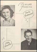1947 Honey Grove High School Yearbook Page 42 & 43