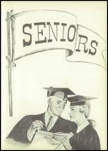 1953 Savona High School Yearbook Page 14 & 15