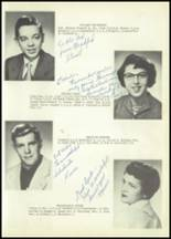 1953 Savona High School Yearbook Page 16 & 17