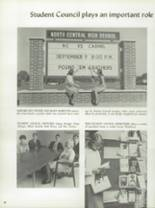 1967 North Central High School Yearbook Page 42 & 43