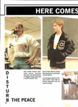 1988 Clyde High School Yearbook Page 20 & 21
