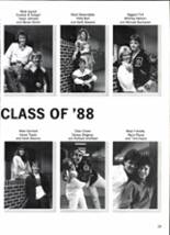 1988 Clyde High School Yearbook Page 32 & 33