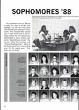 1988 Clyde High School Yearbook Page 54 & 55