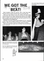 1988 Clyde High School Yearbook Page 100 & 101