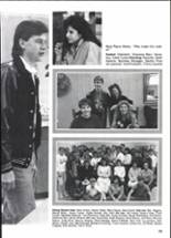 1988 Clyde High School Yearbook Page 110 & 111