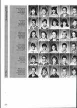 1988 Clyde High School Yearbook Page 136 & 137