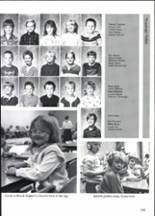 1988 Clyde High School Yearbook Page 154 & 155