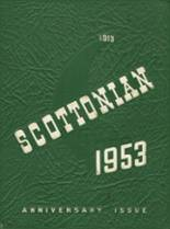 1953 Yearbook Scott High School