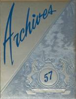 1957 Yearbook Bruce High School
