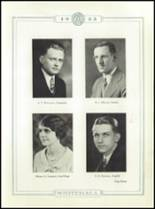 1933 Whitehall High School Yearbook Page 16 & 17