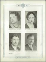 1933 Whitehall High School Yearbook Page 18 & 19