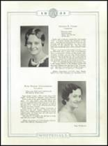 1933 Whitehall High School Yearbook Page 26 & 27