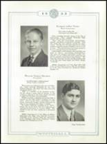 1933 Whitehall High School Yearbook Page 32 & 33