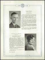 1933 Whitehall High School Yearbook Page 34 & 35
