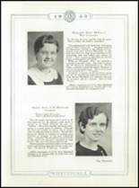 1933 Whitehall High School Yearbook Page 38 & 39